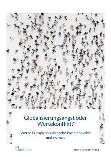 Globalisierungsangst oder Wertekonflikt?