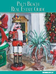 Palm Beach Real Estate Guide - December Issue