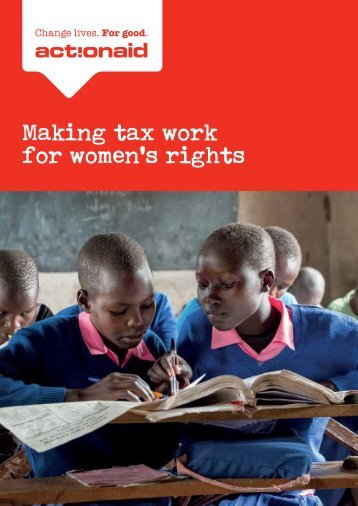 Making tax work for women's rights