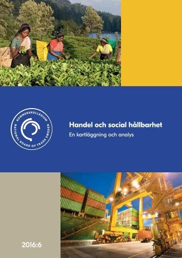 Handel och social hållbarhet 2016:6