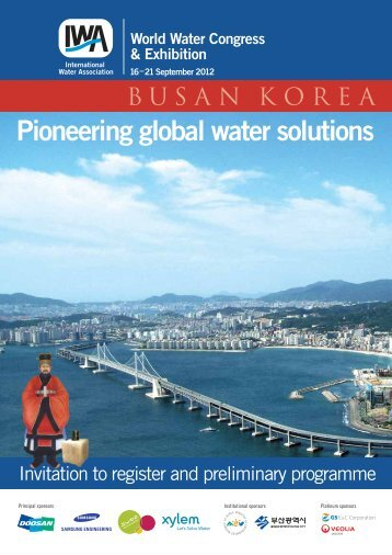 Pioneering global water solutions - IWA World Water Congress ...