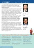 Pioneering global water solutions - IWA World Water Congress ... - Page 4