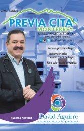 Revista Digital Previa Cita Monterrey edicion 15a