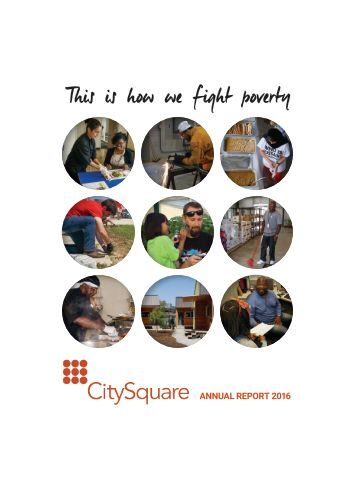2016 CitySquare Annual Report