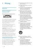 Philips Minichaîne hi-fi - Mode d'emploi - DEU - Page 4