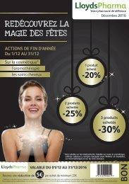 LloydsPharma Décembre Flyer (FR)