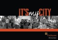 2014 CitySquare Annual Report