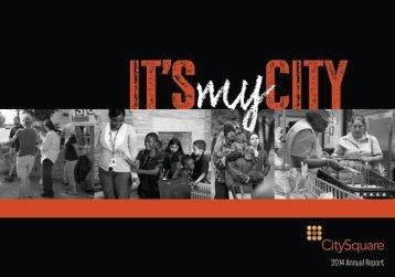 2014 CitySquare Annual Report