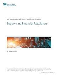 Supervising Financial Regulators