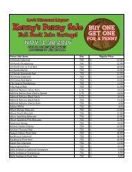 Penny-Sale-List