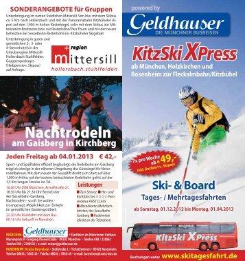 KitzSki XPress - Geldhauser