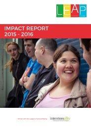 IMPACT REPORT 2015 - 2016