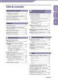 Sony NWZ-B152F - NWZ-B152F Istruzioni per l'uso Spagnolo - Page 3