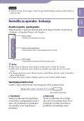 Sony NWZ-B152F - NWZ-B152F Istruzioni per l'uso Sloveno - Page 2