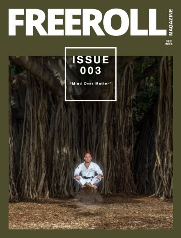 "FREEROLL ISSUE 003 ""Mind Over Matter"""