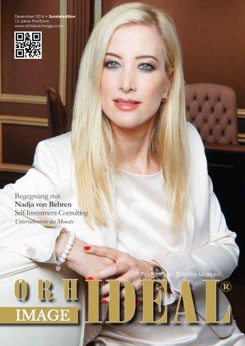 Orhideal IMAGE Magazin - Dezember 2016