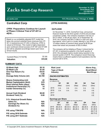 Small-Cap Research