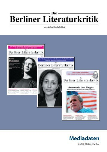 Mediadaten Dunkelblau - MediaService Marschall