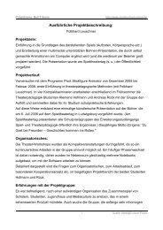 Ausführliche Projektbeschreibung: - Mediaculture online