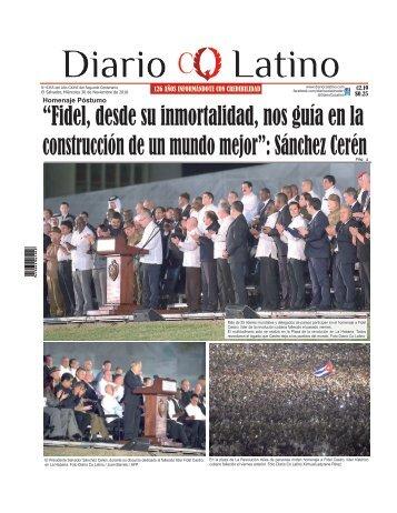 Edición 30 de Noviembre de 2016