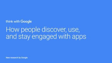 and stay engaged with apps