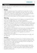 Philips SalonDry Pro Sèche-cheveux - Mode d'emploi - ENG - Page 7