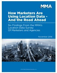How Marketers Are Using Location Data - And the Road Ahead