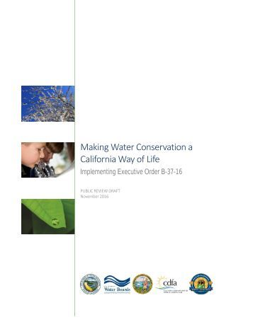 Making Water Conservation a California Way of Life