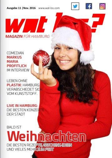 Wat Los? / Ausgabe 11 - 2016