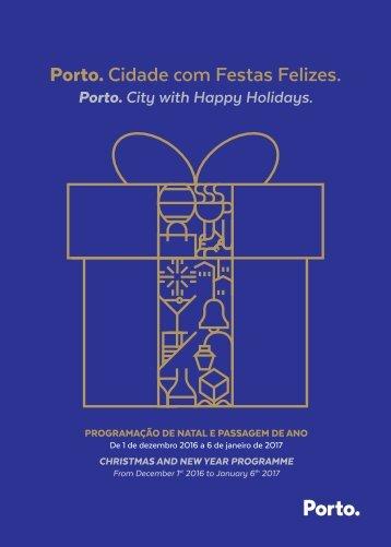 Porto Cidade com Festas Felizes