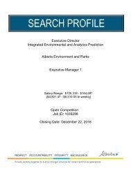 SEARCH PROFILE