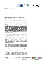 Umweltzonen verhindern Reduzierung der Stickoxidemissionen