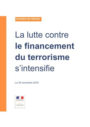 La lutte contre le financement du terrorisme s'intensifie