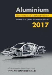 ALuminium Lieferverzeichnis 2017