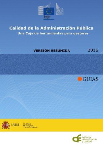 Calidad de la Administración Pública