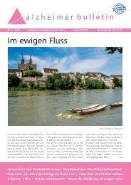 Im ewigen Fluss – Alzheimer-Bulletin 2/2016