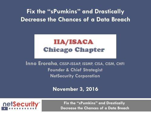 Decrease the Chances of a Data Breach