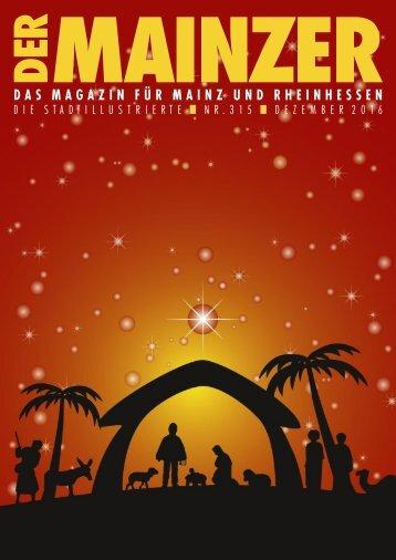 DER MAINZER - Das Magazin für Mainz und Rheinhessen - Nr. 315 - Dezember 2016