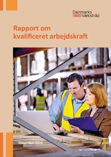 Rapport om kvalificeret arbejdskraft