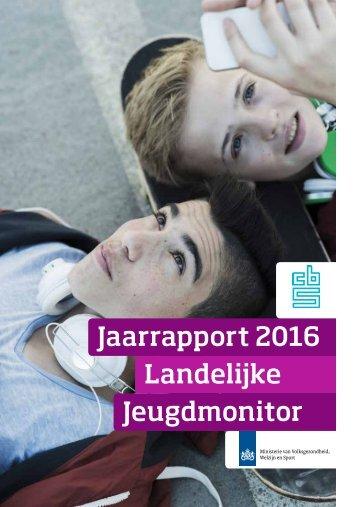 Jaarrapport 2016 Landelijke Jeugdmonitor