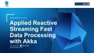 Applied Reactive Streaming Fast Data Processing with Akka
