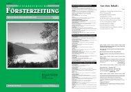 Österreichischer Staatsförsterverein - Der Verband Österreichischer ...