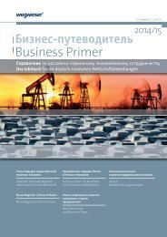Business Primer Germany - Russia 2014/15