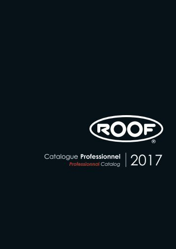 ROOF CATALOGUE 2017 FR-EN