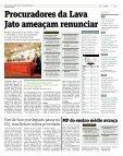 Força-tarefa ameaça abandonar a Lava Jato - Page 3