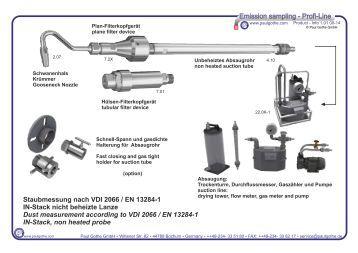 Probenahme - sampling line Paul Gothe GmbH