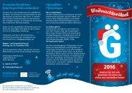Gröpelinger Weihnachtsrätsel 2016
