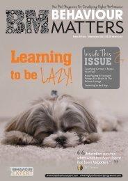 Behaviour Matters June 2016