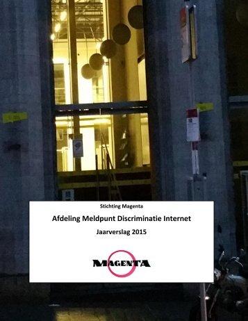 Afdeling Meldpunt Discriminatie Internet