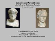 Griechische Porträts